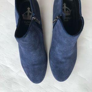 Crown Vintage Shoes - Crown Vintage suede leather ankle booties